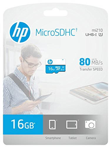 HP 16GB MicroSD Class 10 Memory Card