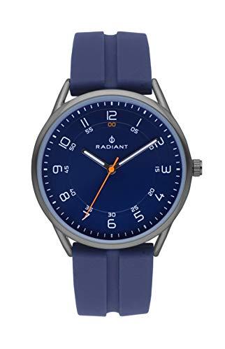 Radiant taycan orologio Uomo Analogico al Al quarzo con cinturino in Gomma RA517605