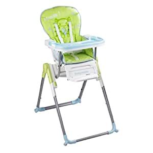 babymoov a010002 hochstuhl slim ab 6 monaten gr n blau green blue baby. Black Bedroom Furniture Sets. Home Design Ideas