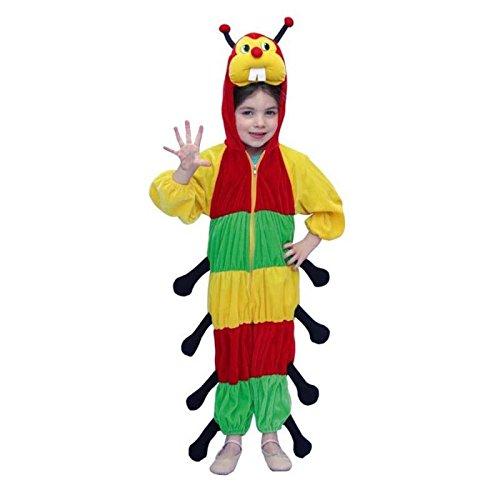 Kinderkostüm Raupe Gr. 116 (Kostüm Krabbeltiere)