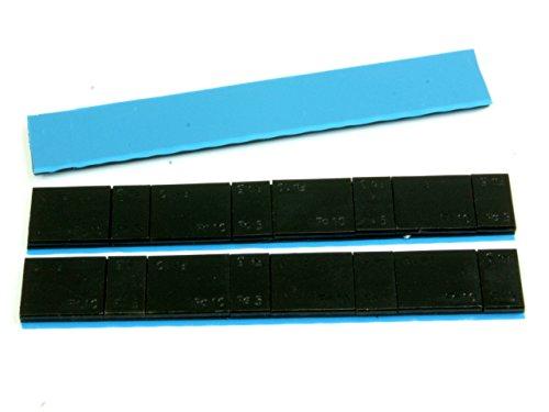 1-Stck-Klebegewchte-5-10-60g-Schwarz-Fe-Slim-Breites-Band-Gewichte-Auswuchten-Klebe-Felgen-Alufelgen-Rder-Auswuchten-Werkstatt-Vulkaniesierung-Stahl-dnn-hochwertig-mit-starken-Klebeband-PKW-LKW-fr-Fel