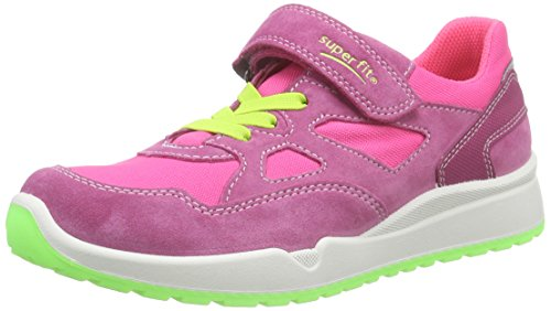 Superfit Strider, Baskets Basses Fille Rose (pink 63)
