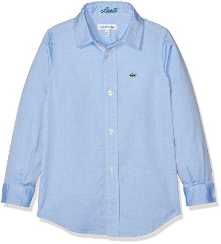 Lacoste Cj2907 Camicia Bambino Blu 12 Anni