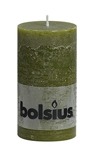 rustikal-103867590370-stumpenkerze-paraffin-wachs-olive-grun