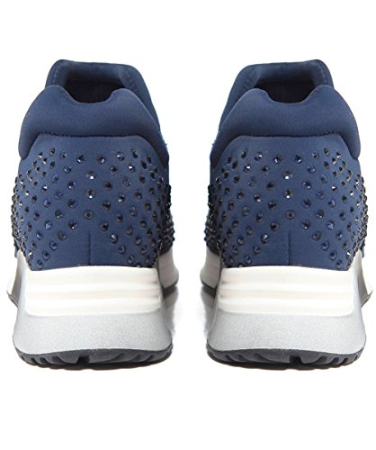 Ash Footwear Ash Chaussures Lifting Baskets Femme Navy Fabric