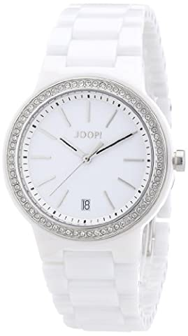 Joop Damen-Armbanduhr Sensation Ladies Analog Quarz Keramik JP100792F02