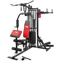 Christopeit Profi Center de Luxe Fitness-Station, schwarz, 99881