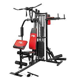Christopeit Profi Center de Luxe Fitness-Station, schwarz, 99881