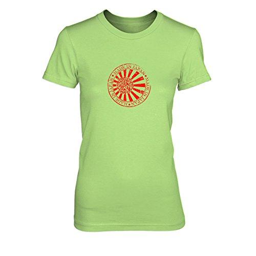 Made in Japan - Damen T-Shirt Hellgrün