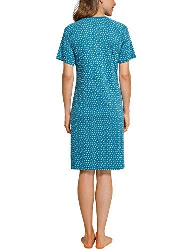 Schiesser Damen Nachthemd Blau (Atlantikblau 899)
