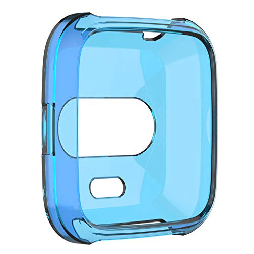NEU! Tensay 2 Stück Ultra Slim TPU Protector Smart Uhrengehäuse-Abdeckung für Fitbit versa Lite, professionelles Uhrenzubehör