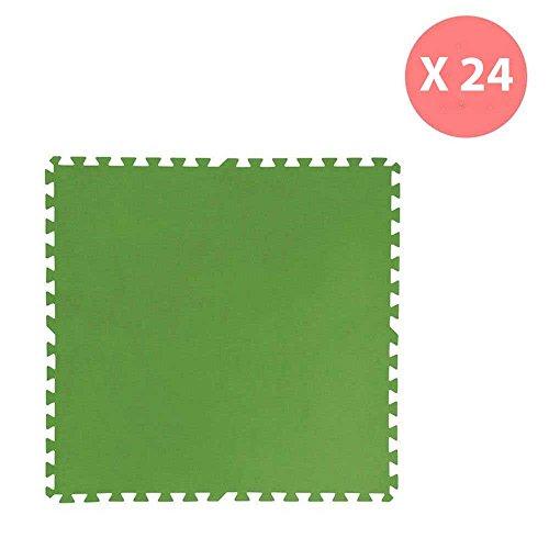 offerta-24-piastrelle-verdi-antiscivolo-incastro-per-fondo-piscina-bestway-58265