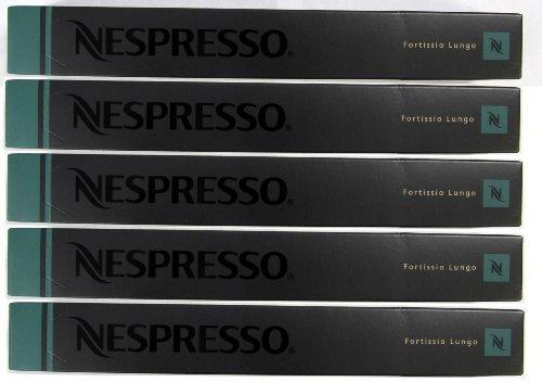 Get Nespresso OriginalLine: Fortissio Lungo, 50 Count - Nespresso