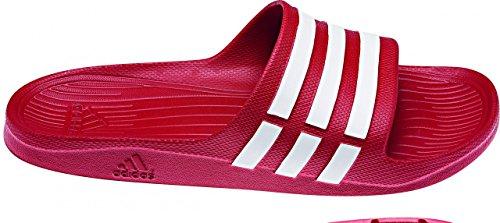 Adidas Duramo Slide - Mules natation Mixte Adulte red