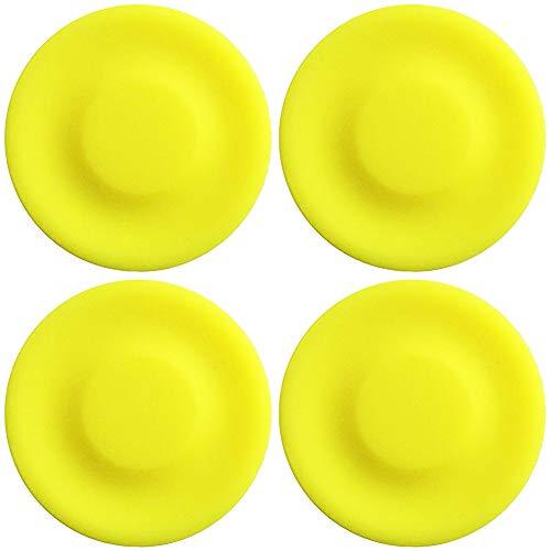 WENTS Mini Frisbee Mini Flying Disc Handschub-UFO Soft Eva Spielzeug Eltern Kind für Erwachsene, Kinder, Sport, Spiele & Outdoor 4pcs