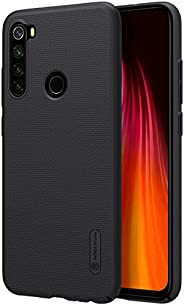 Nillkin Case Xiaomi Redmi Note 8 [with Phone Stand] Frosted Shield Anti Fingerprints Hard PC Case Back Cover -