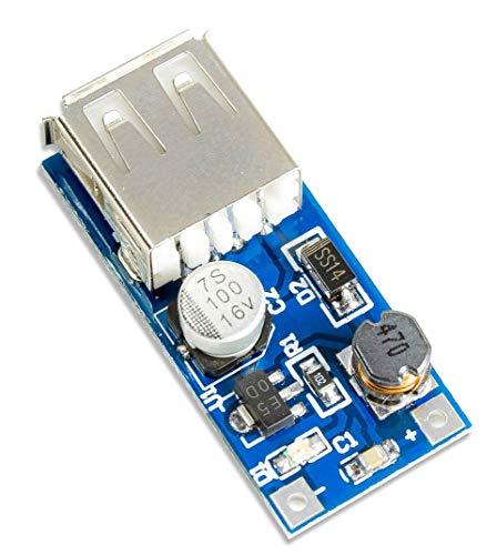 MissBirdler Step-Up Boost-Converter 0.9V-5V zu 5V PFM max 600mA f. Arduino DIY Raspberry Pi -