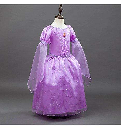 Imagen de rapunzel enredados disfraz inspirado 1 9 años  120 4 a 6 años  alternativa