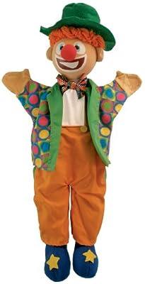 - Marioneta de mano Payaso de Au Sycomore