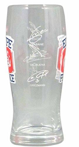 Set 2 verres à bière FFF - Collection officielle Fédération Française de Football