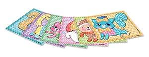 Play maíz 160360-Card Set Mosaic Dream Kitten, Juego de Manualidades