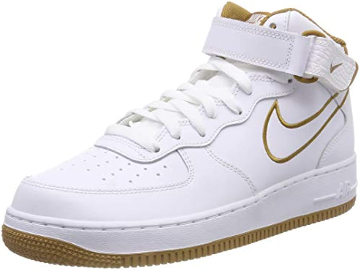 nike hommes & eacute; s air force 1 mi mi mi - 2007 lthr faible haut baskets b08639