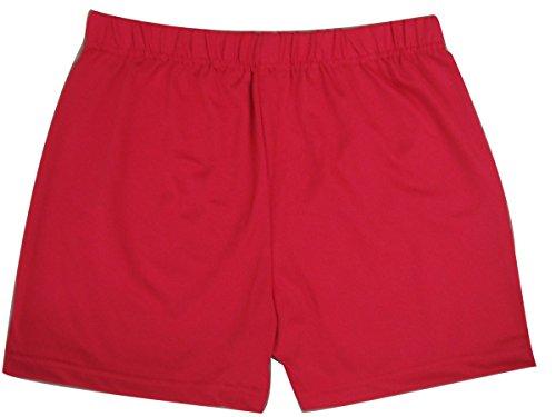 whitewed - Short de sport - Femme Rouge - Rouge