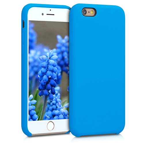 e 6 / 6S Hülle - Handyhülle für Apple iPhone 6 / 6S - Handy Case in Blue Temptation ()