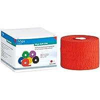 Höga-Haft Fixierbinde, gedehnt, kohäsive selbsthaftende elastische, 8 cm x 20 m, rot, 1 Stück preisvergleich bei billige-tabletten.eu