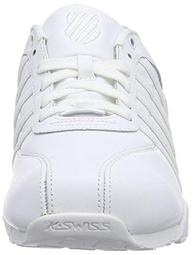 K-Swiss Herren Arvee 1.5~Incabrn/Prairiesnd/Antqwht~m Sneakers Weiß (WHITE/WHITE 912)