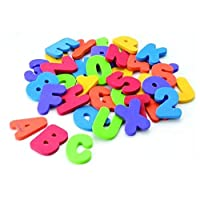 Kids & Children & Baby Bath Toys water toys Classic toys Educational 36pcs/set 26 Letters  10 numbers