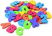 Foam Bath Toys Preschool Alphabet - Best Baby Bath Toys Toddlers Girls Boys - Premium Educational Floating Bat