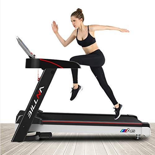 ZQG BEAUTY Tapis roulant Elettrico Pieghevole Jogging Macchina Portatile Fitness Esercizio Fitness e casa Esercizio 120 kg Muto a Basso Rumore
