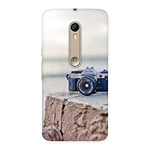 Cute Vintage Camera Multicolor Back Case Cover for Motorola Moto X Style