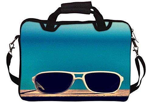 snoogg-sun-sand-n-gafas-impreso-funda-para-porttil-con-correa-para-el-hombro-15a-156