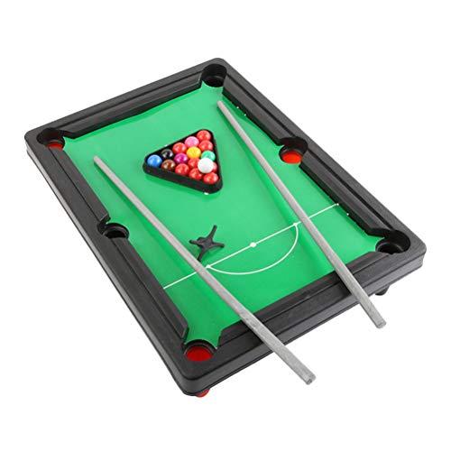 ool Set Miniature Billardtisch Snooker Spiel Indoor Spielzeug für Kinder Erwachsene ()