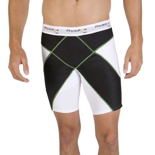 PhysioRoom Elite Compression Shorts Core Stability Innovative Base Test