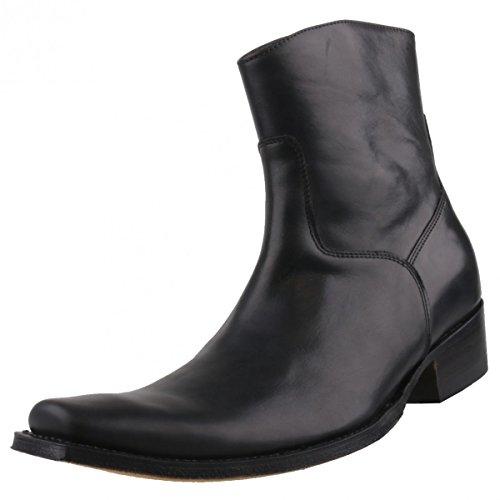Sendra bottines 7438-homme-noir Noir - Noir