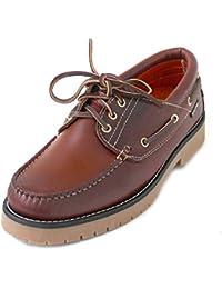 Snipe Zapatos con Cordones de Piel Hombre