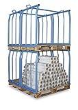 Cordes Euro-Palettenaufsatz, Höhe 800mm, Last 500kg, für 1200x800mm