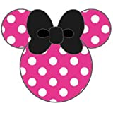 Disney MobiMore Strap Charm Button for iPhone/Smartphone (Minnie Mouse/Vivid Pink) (japan import)