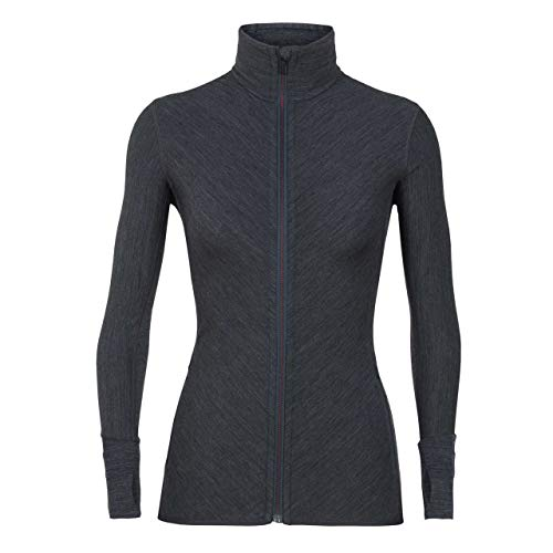 Icebreaker Damen Descender Ls Zip Fleecejacke 3