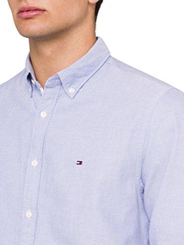 Tommy Hilfiger Herren Freizeithemd Ivy Oxford Blau - Shirt Blue