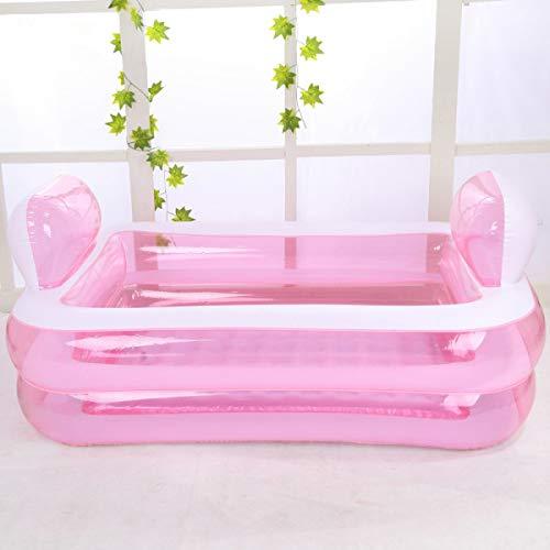 BJYG Kinderaufblasbarer Familien-Swimmingpool, Rosa