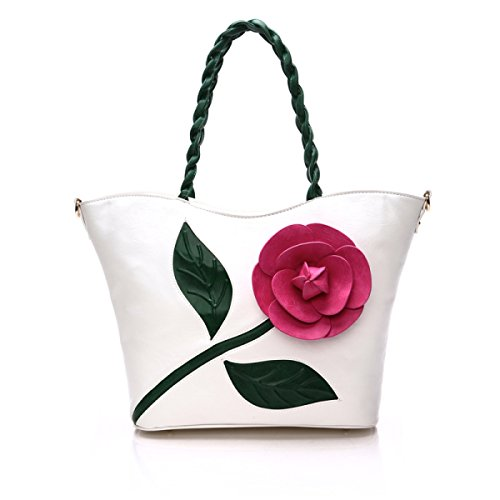 2017 Mode-Trend Hit Farbe Dreidimensionale Blume Handtasche Schulter Messenger Bag Frau Tasche Handtasche Love