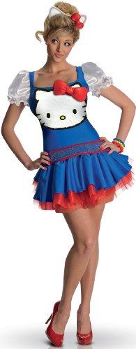 ostüm für Erwachsene XS (Damen Hello-kitty-kostüm)