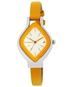 Fastrack Analog White Dial Women's Watch - 6109SL01