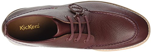 Kickers Kymbo Mocc, Bottes homme Brown (Burgundy)