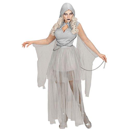 Widmann - Erwachsenenkostüm Geist in (Halloween Erwachsene Für Kostüme Ausgefallene)