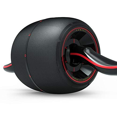 MQQ Automatische Rebound Bauchmuskeln Rad ultimative Kernkrafttraining for Ihr Training zu Hause Arbeiten oder Fitness-Studio Tone Ihre Körper Muskeln mit AB Trainer (Color : Schwarz)
